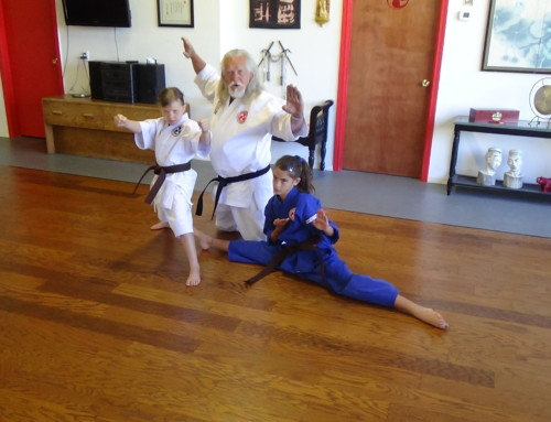 Hanshi, Alexandra, and Daisy in OKM