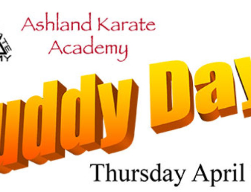 Buddy Day at Ashland Karate Academy