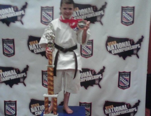 Daisy Wins National Championship in Kata