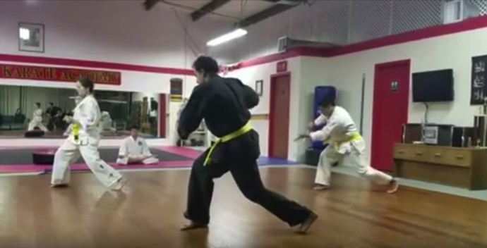 Eskrima Test at Ashland Karate Academy