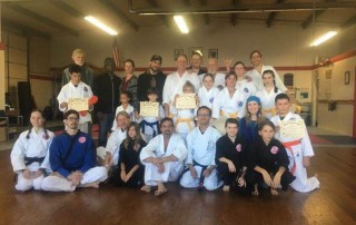 December Belt Test Ashland Karate Academy