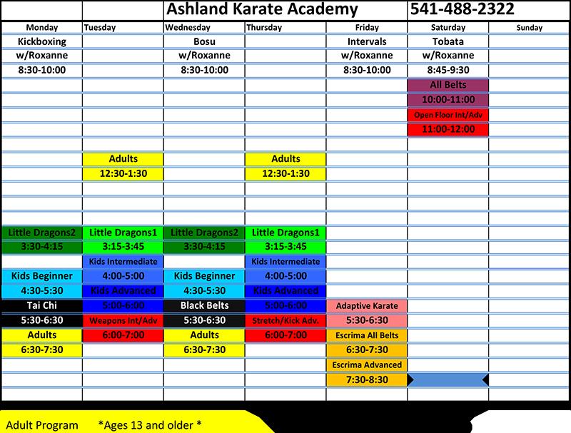 Fall-2018-schedule